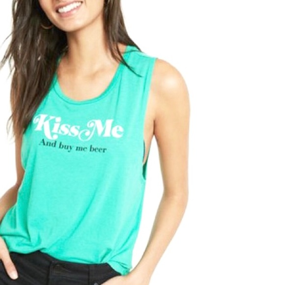 80056d78 Express Tops - EXPRESS | ST. PATRICKS DAY TANK ☘️